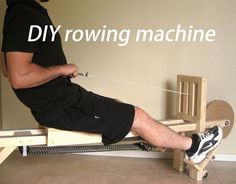 Picture of DIY rowing machine