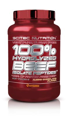 SCITEC 100% HYDROLYZED BEEF ISOLATE PEPTIDES - Muscle Gain – DXHIVE Vanity 100% of protein from beef. Beef has legendary status among hard training, goal oriented athletes – many people experience better gains consuming this meat over chicken. So why not have beef protein shakes when quality powdered raw material is available? Good alternative to milk protein, especially over controversial soy proteins! #scitec#scitecprotein#beefprotein#hydrolazedbeef#bodybuild@gymaddict#fitness#dxhivevanity
