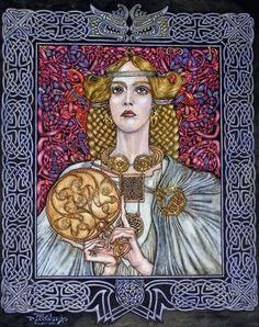 Niamh - Princess of Tír nar nÓg by Angel Dominguez