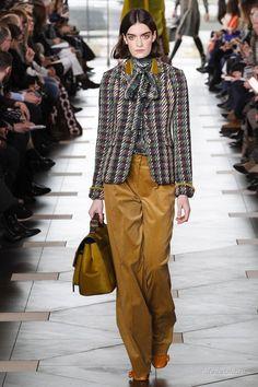 Женская мода: Tory Burch, осень-зима 2017-2018