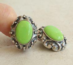 Amethyst Earrings, Heart Earrings, Clip On Earrings, Blue Green Gem, Station Necklace, Sterling Silver Cuff, Simple Necklace, Earring Backs, Gold Stars