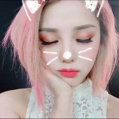 Pony park hye min make up ^^♡▼♡