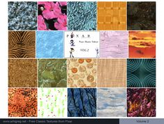 Pixar Textures Vol. 2 - Free download Pixar Textures Vol. 2
