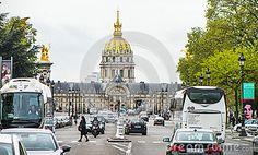 City view. Les Invalides. Paris, France