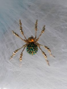 Let these bee-utiful creatures entangle you in their web, crawl into your heart and onto your tree branches! Each one comes with the Legend of the Christmas Spider printed on vellum and stretch cording for hanger ( upon request). Handmade with wire and variety of beads, sizes
