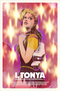 I Tonya by Tula Lotay Mondo Movie Poster Print Limited Edition Harding Lynch WW Omg Posters, Best Movie Posters, Film Posters, Movies Showing, Movies And Tv Shows, Cultura Nerd, Alternative Movie Posters, New Poster, Great Movies