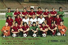 Torino team group in 1978-79.