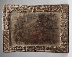 Yoruba Opon Ifa / Square - Rectangular Tray (Opon Onigun Merin), Nigeria