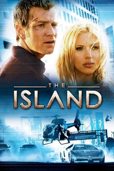 The Island is a 2005 American science fictionthriller film directed by Michael Bay starring Ewan McGregor and Scarlett Johansson It was released on July 22 Films Hd, Imdb Movies, Top Movies, Movies To Watch, Movies Free, Ewan Mcgregor, Scarlett Johansson, Island Movies, Series Online Free