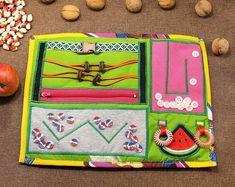 Handmade Sensory Fidget Blankets