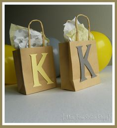 Gift Bags - bridal shower