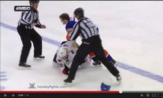 NHL One Punch Knockout. Call the UFC - Front Page Celebrities