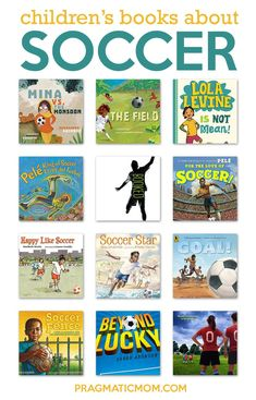 Nonfiction Books For Kids, Fiction And Nonfiction, Best Children Books, Childrens Books, Ya Books, Good Books, Soccer Books, Preschool Books, Chapter Books