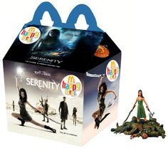 Best Happy Meal ever! Happy Meal Box, Ghost Movies, Best Tv Series Ever, Firefly Serenity, Mcdonalds, The Walking Dead, Geek Stuff, Fun Stuff, Creepy