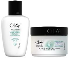 Anti-Aging Skin Care for Sensitive Skin from Olay. Sensitive Skin Care, Oily Skin Care, Anti Aging Skin Care, Olay Age Defying, Anti Aging Treatments, Skin Care Remedies, Anti Aging Cream, Beauty, Beauty Tutorials