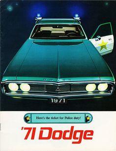 1971 Dodge Police Car