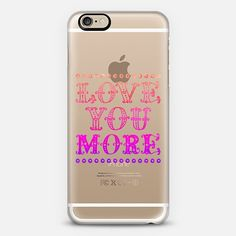 Love You More - Classic Snap Case