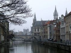 Ghent, I love when I see pictures that make me wish I was there, like I need to be there.
