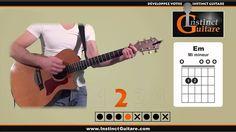 Jouez un premier rythme à la guitare