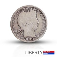 The Barber quarter of 1892-1916, was the last U.S. quarter of the 1800's, and…