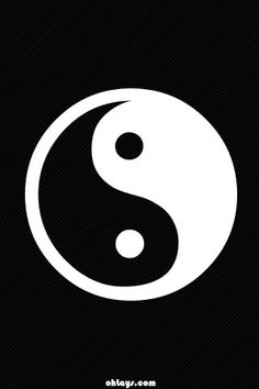 Yin Yang iPhone Wallpaper Free iPhone Wallpaper | Silver Spiral ...
