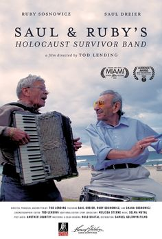 Like many survivors of the Holocaust, after World War II, Saul and Ruby moved to America, started families and careers, grew old, and retired to South Florida. For them, retirement could have been the last chapter in their story. But then they decided to start a klezmer band, named the Holocaust Survivor Band. The band summons the bittersweet memories of childhood in Poland, but more than that, it is a celebration of life.