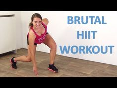 10 Minute Intense HIIT workout – Short High Intensity Interval Training increasing Fat Loss - YouTube