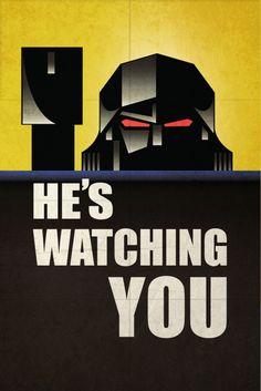He's Watching You #Megatron #Transformers #decepticons