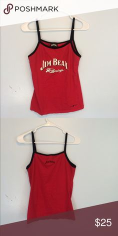 Jim Beam tank top Barely worn. Fits like a small or medium since its stretchy. Tops Tank Tops