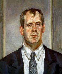 Head of an Irishman - Lucian Freud (British: 1922- 2011)