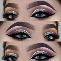 "(@eyekandycosmetics) on Instagram: ""Beautiful @ayeeshabx using Confetti @ayeeshabx #eyeKandy #eyekandycosmetics #glitter…"""
