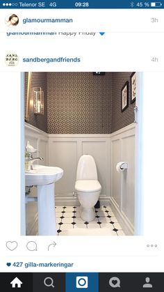 7 Secure Tips: Wainscoting Panels Entryway painted wainscoting nursery. Wainscoting Height, Wainscoting Kitchen, Painted Wainscoting, Dining Room Wainscoting, Wainscoting Panels, Wainscoting Nursery, Wainscoting Ideas, Guest Toilet, Small Toilet