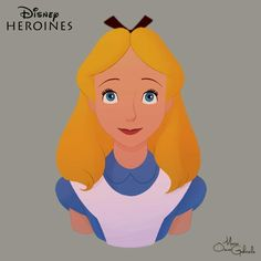 Disney Heroines: Alice by Mario Oscar Gabriele on Devinart