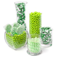 Green - Candy Kit for Baby Showers $59.99 | Baby Shower Decorations | Baby Shower Candy Buffets