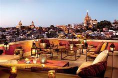 Luna Rooftop Tapas Bar, San Miguel de Allende, Mexico