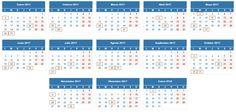 Calendario fiscal autónomos 2017