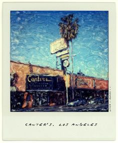 Canter's on Fairfax Alternative Photography, City Of Angels, Photo Craft, Polaroid Ideas, Craft Projects, Polaroids, Deli, Movie Posters, Crafts