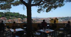 Miradouro Da Graça in Lisbon PORTUGAL