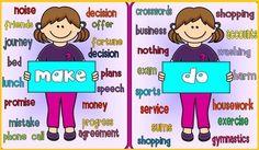 """Ambos verbos DO y MAKE en inglés se traducirán al español como """"hacer"""" (en teoría, ejem...), pero, ¿esta palabra en inglés va con DO o con MAKE?¡ Veámoslo!"""