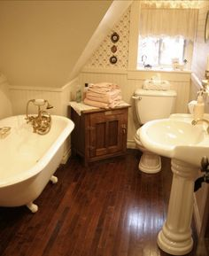 Attic •~• bathroom