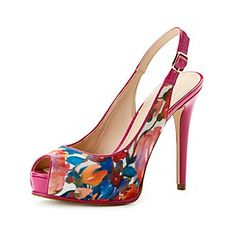 "Product: Guess ""Huela 3"" High Heel Dress Pumps - Pink Multicolor"