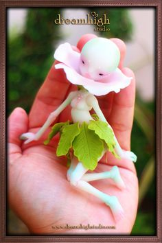 14cm tiny Florina the Sprite available April 8th from Dreamhigh Studio
