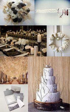 Winter Wedding ideas. #WinterWedding
