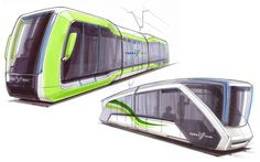 Melbourne Tram Concept by Shannon Smith at Coroflot.com