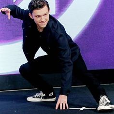Spider-Man, Spider-Man, does whatever a spider can! Tom at the Infinity War press conference in Seoul, Korea - - - - @tomholland2013 @tomholland2013 #spiderman #spidermanhomecoming #spidey #spiderboy #homecoming #tomholland #peterparker #hollander #harrisonosterfield #marvel #avengers #mcu #civilwar #avengersinfinitywar #thomasholland #infinitywar #captainamerica #ironman #thor #blackpanther #blackwidow
