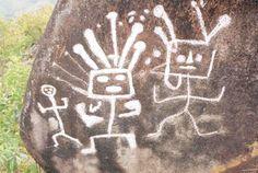Petroglyphs from Samanga, Peru.
