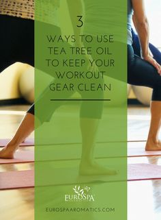 Whether you spend a lot of time at the gym or like to exercise at home, it's important to make sure you're disinfecting your workout gear regularly. We have some good news: Tea Tree Oil is about to become your new secret weapon! Yoga Fitness, Fitness Tips, All Natural Cleaners, Essential Oils Cleaning, Tea Tree Essential Oil, Yoga For Weight Loss, Living A Healthy Life, Fat Burning Workout, Tea Tree Oil