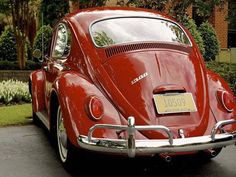 Classic VW -1966 red beauty