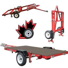 Canada's Source for folding utility trailers & accessories Trailer Plans, Trailer Build, Car Trailer, Teardrop Trailer, Foldable Trailer, Folding Utility Trailer, Motorcycle Trailer, Bobber Motorcycle, Bike