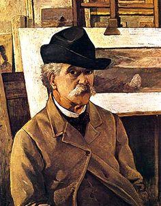 Fattori, Giovanni (1825-1908) - Self Portrait by RasMarley, via Flickr